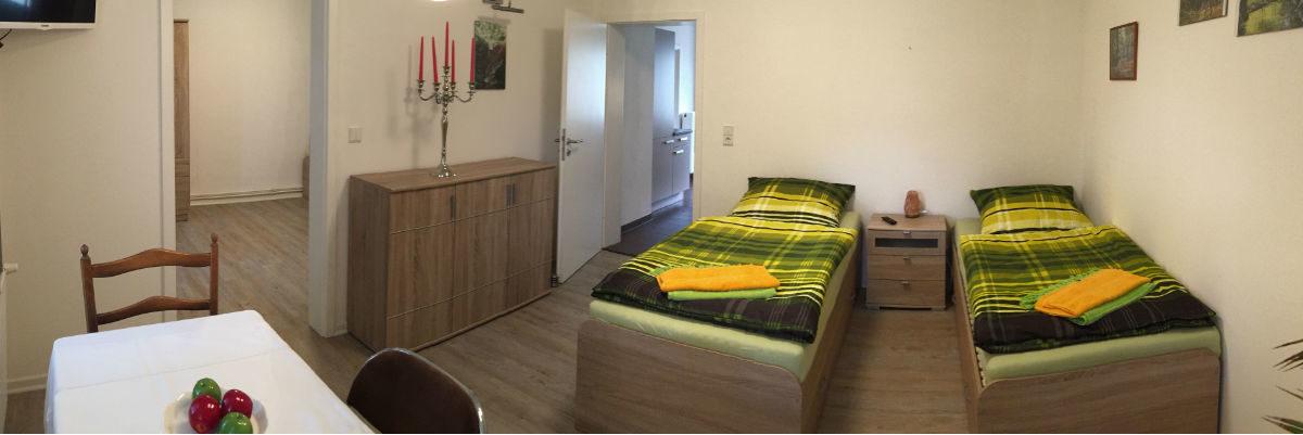 Ferienwohnung Biberburg - Zimmer 1