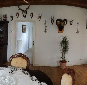Ferienwohnung Schwalbennest - Wohnzimmer