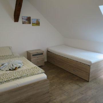 Ferienwohnung Schwalbennest - Schlafzimmer 2