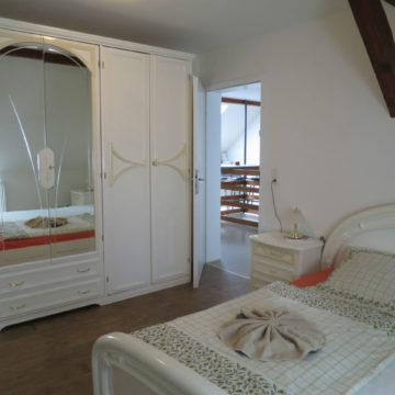 Ferienwohnung Schwalbennest - Schlafzimmer 1